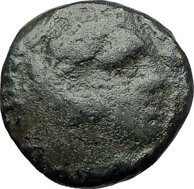 ALEXANDER III the Great 325BC Macedonia Ancient Greek Coin HERCULES CLUB i61439
