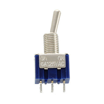 K483 6 x 2-way 3-pin A/ A Mini Toggle Switch