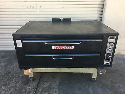 blodgett natural gas single deck pizza oven model 961