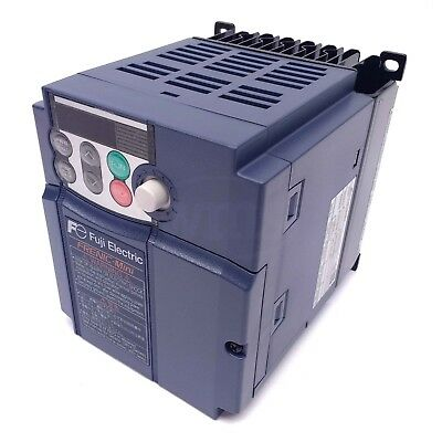 Fuji FRN0005C2S-6U 1 HP 120V 1Ph In, 240V 3Ph Out, Frenic-Mini VFD Inverter