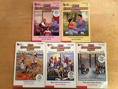"Lot Of 5 ""The Babysitters Club"" Children's Chapter Books #2643"