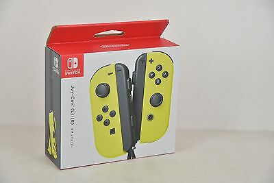 Nintendo Official Joy-Con Controller (Yellow) for Switch System Console & ARMS