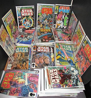 Marvel Comics Star Wars Complete Run Issues # 1-107 Complete EXCELLENT!!!!