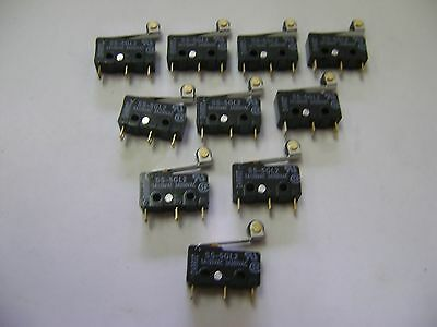 10 New Omron Ss-5Gl2 5A125Vac / 3A250Ac Micro Switches A3