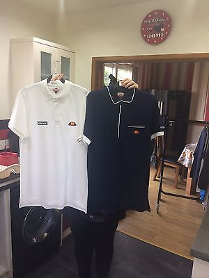 mens ellesse polo tshirt bundle size medium sample