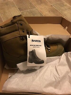 BATES MOUNTAIN COMBAT HIKER BOOTS WATERPROOF Temperate Weather SIZE 10 R NEW