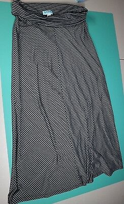 Old Navy Maternity skirt size medium Stripped Maxi Long