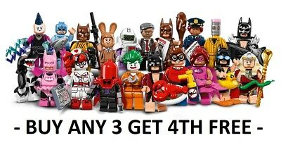 Lego Batman Movie Minifigure Pick Choose Tut Mime Joker Fairy Hood Lobster Quinn