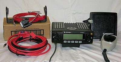 Motorola XTL2500 Radio, VHF, P25 Digital Radio, Loaded