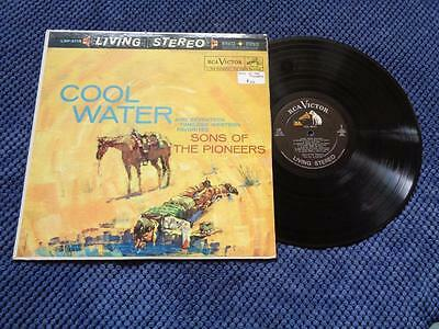 """Sons Of The Pioneers """"Cool Water"""" LP RCA LSP 2118"""