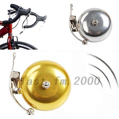 Bike Retro Bicycle Equipment Bell Alarm Aluminum Metal Handlebar Horn