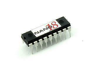 Nano 18 Microcontroller IC B0086, Electronics Project BASIC STAMP, Arduino