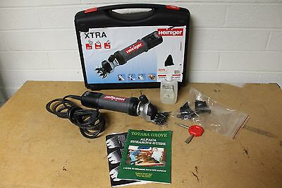 Heiniger xtra Sheep Clippers 320W -Swiss Made-  Goat, Sheep, Horse, Dog clipper