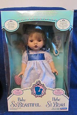 Baby So Beautiful Doll by Playmates