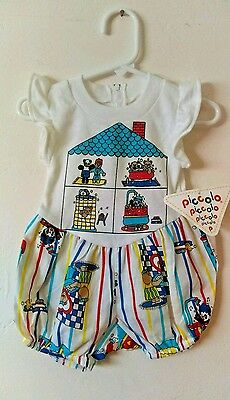 Vtg Babies Bear Romper - NWT - 12 Mos - Vintage Baby - Retro Infant - One Piece