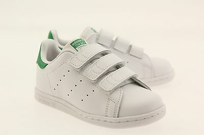 517047286f9 ADIDAS ORIGINAL TODDLERS  Stan Smith NEW AUTHENTIC White Green ...