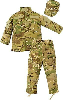 Trooper Clothing Combat 3 Piece Set w 10 Pockets, Extra Large, Multi Color...