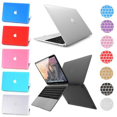 Rubberized Hard Case Keyboard Cover For MacBook PRO 13' A1706 A1708 Touch Bar