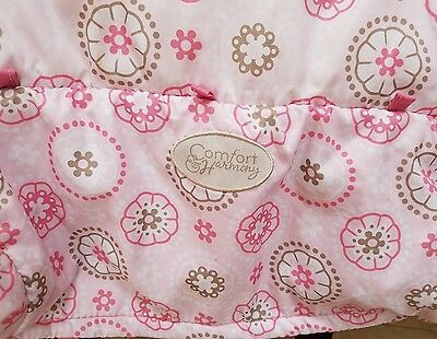 Baby Infant Shopping Cart Cover Pink Comfort & Harmony Clean and Safe