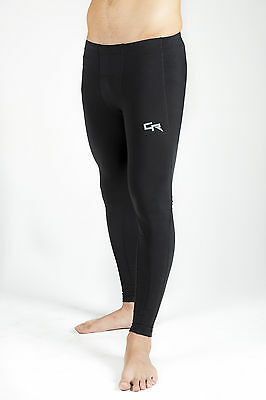 Mens Youth Compression Tights Base Layer Running Pants Gym Skins Run XXS-XXL NEW