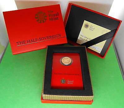2014 Half Sovereign Gold Coin Struck in India with COA and Gift Box