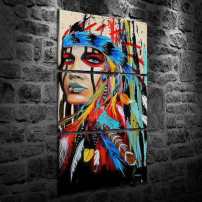 Oil Painting HD Print Home Wall Decor Art on Canvas Feathered Pride 3PCS Unframe