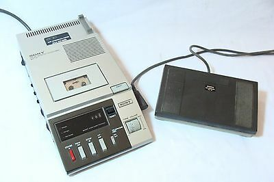 Sony BM-720 Micro Dictator/Transcriber with footswitch