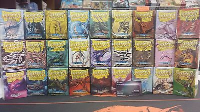 MTG Dragon Shields 10 boxes 100 ct sleeves deck protectors YOU PICK THE COLORS