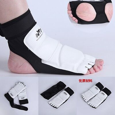 Boxing Ankle Foot Support Anklet Brace MMA Thai KickBoxing Achilles Tendon Guard