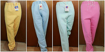 "Vintage Women""s Sweatpants Russell Athletic Deadstock Pastel 1990's"