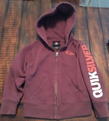 Quicksilver Toddler Boys Hooded Sweaters Size 4