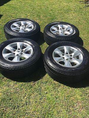 Genuine Toyota Prado 150 Series Alloy Wheels With Or Without Tyres