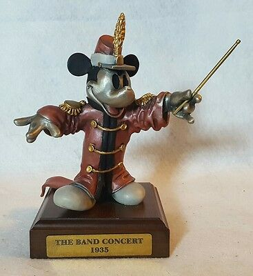 "Chilmark Pewter Disney Mickey Mouse: ""The Band Concert 1935"" LE 263/500"