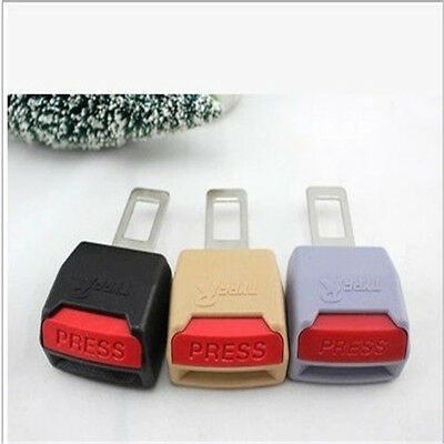 Universal 3colors Car Seat Seatbelt Safety Belt Clip Extender Extension Buckle