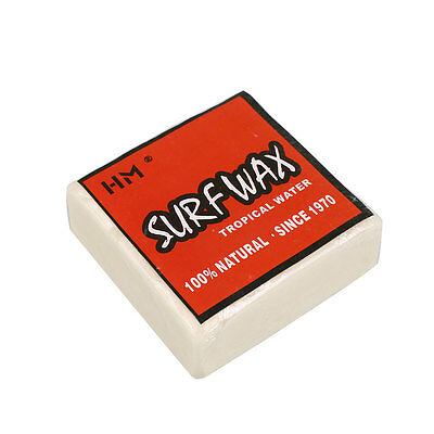 Square Surf Wax For Surfboard Skimboard Bodyboard Surfing Cool Water Sports