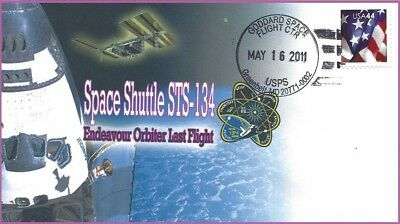 Space Shuttle STS-134 Endeavour Orbiter Mission LAST FLIGHT-Scarce