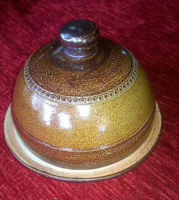 Vintage Bendigo Pottery Cheese/Butter Dish - Never used