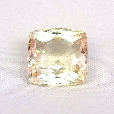 TOP HIDDENITE : 6,84 Ct Natürliche Gelber Hiddenit ( Yellow Kunzite )