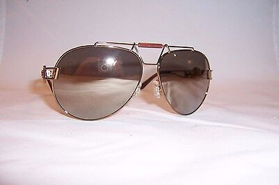 d62280abc7 New Versace Sunglasses Ve2160 Ve 2160 13485A Bronze gold Mirror Authentic