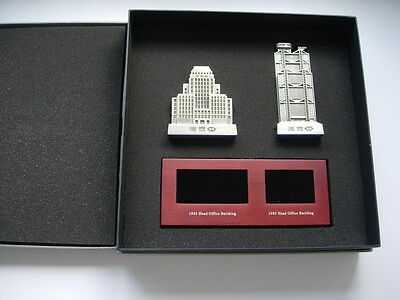HSBC Bank Main Building Tower 1935&1985 Model Metal Souvenir Pewter Paperweight