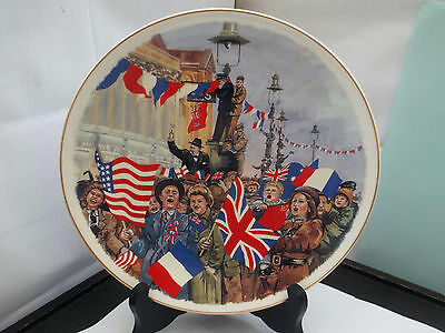 1995 Plate For The 50Th Anniversary Of V E Day  By Argyle China