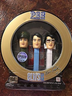 Elvis Presley Limited Edition Pez dispensers With CD