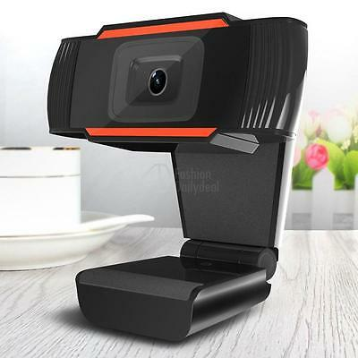 HD 12 Megapixels USB 2.0 Webcam Camera with MIC Clip-on for PC Laptops UK Hot
