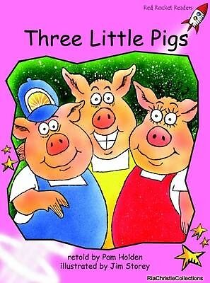 Three Little Pigs 9781877363115 Pam Holden Paperback NEW Book