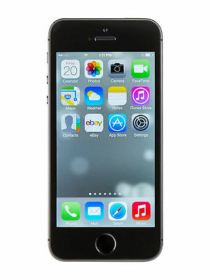 Boxed Sealed New Apple iPhone 5S Black 16 32 64GB Factory Unlocked 4G Smartphone