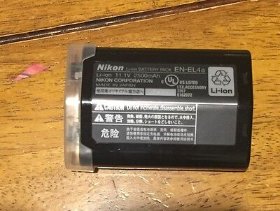 Nikon EN-EL4a Genuine Battery D2 D2H D2HS D2X D2DX D3 DS3 EN-EL4