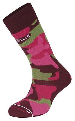 Hot Stuff Calze sci merino donna Ski Camo Woman