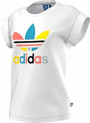 Adidas Originals Bf Roll Up Tee T-Shirt fitness donna