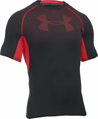 Under Armour UA HeatGear Armour Printed Compression T-Shirt fitness