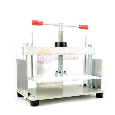 A4 Size Manual Flat Paper Press Machine for Nipping Vouchers Books Invoices